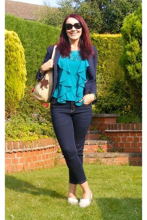 Clarks shoes - denim Gap jeans - Zara jacket