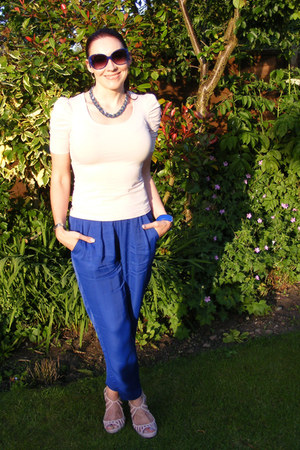 blue asos sunglasses - blue Mary Portas pants