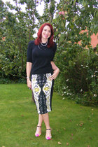 River Island skirt - Carvela shoes