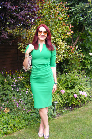green Lashes of London dress