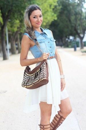 Formul bag - Sheinside dress - Missguided sandals