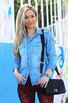 Zara shirt - New Yorker jeans - Mango bag