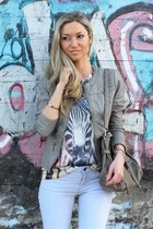 Pimkie jacket - Guess boots - Zara jeans