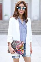 Zara blazer - Antik Batik bag - Zara blouse - Kurt Geiger pumps
