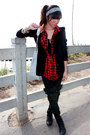 Black-funktional-blazer-red-stapleford-buffalo-shirt-black-nordstrom-legging