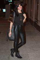 black Fleamadonna shirt - black Aldo boots