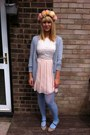 Light-pink-primark-dress