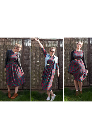 vintage style asos dress