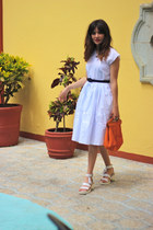 leather Windsorsmith sandals - hand made in mexico skirt