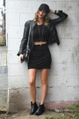 Black-topshop-boots-black-forever-21-jacket-black-american-apparel-top