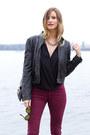 Black-topshop-boots-maroon-zara-jeans-black-zara-blouse