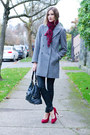 Heather-gray-zara-coat-black-current-elliot-jeans-ruby-red-browns-heels