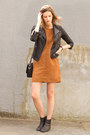 Black-sam-edelman-boots-bronze-sanctuary-dress-black-topshop-jacket