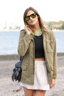 Green-bauble-bar-necklace-army-green-urban-outfitters-jacket