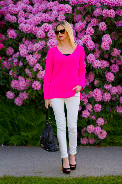 bb6fb660d9e Hot Pink Zara Sweaters