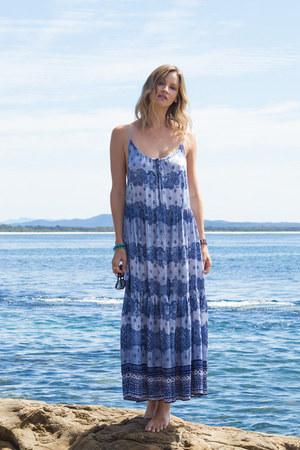 aquamarine maxi dress Somedays Lovin dress