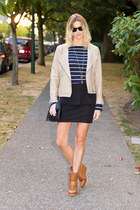 beige Urban Outfitters jacket - black Urban Outfitters skirt