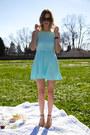 Light-blue-h-m-dress
