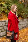 Red-zara-coat-navy-rag-bone-jeans-black-rebecca-minkoff-bag