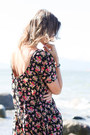 Black-floral-print-urban-outfitters-dress-camel-bp-sandals