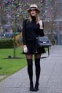 Tan-holt-renfrew-hat-black-fiore-tights-black-kate-spade-bag-black-h-m-top