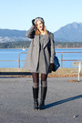 Black-via-spiga-boots-heather-gray-inlovewithfashion-dress