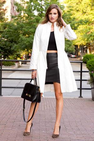 white Dawson & Deveraux coat