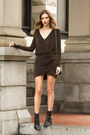 Black-vince-boots-bronze-dynamite-dress-black-dynamite-bag