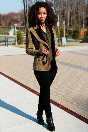 christian lacroix blazer - Primark jeans