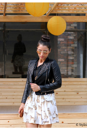 black Romwecom jacket - neutral GlamCurrycom dress
