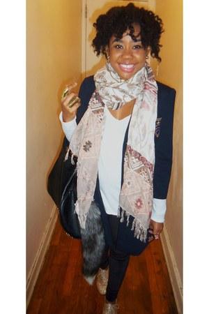 leggings - scarf