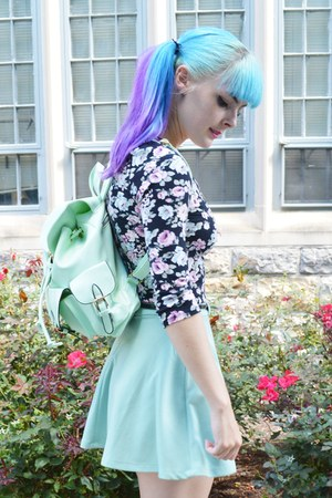 mint backpack Lookbook Store bag