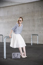 Heather-gray-zara-bag-cream-river-island-heels-ivory-h-m-skirt