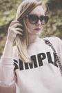 Black-topshop-shoes-black-promod-skirt-light-pink-simple-cp-sweatshirt