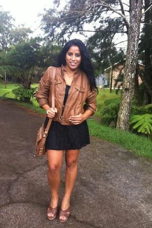 brown Mossimo jacket
