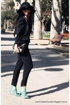 Zara bag - Massimo Dutti hat - Zara romper - Zara sandals - Zara blouse