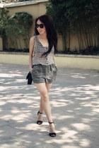 Zara romper - Zara bag - H&M sunglasses - Zara sandals