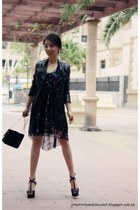 Zara dress - Zara jacket - Zara sandals