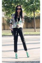 Zara jacket - Zara sandals - Zara pants