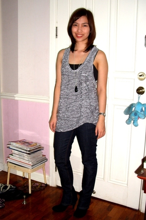 Forever21 top - top - - H&M accessories