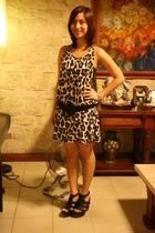 Topshop dress - Parisian at SM shoes