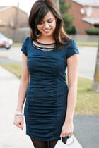 E-Closet dress - Spring purse - Forever 21 accessories