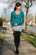 Whitney Eve skirt - Aldo boots - Forever 21 bag - Forever 21 cardigan