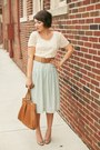 Dark-khaki-gold-tjmaxx-shoes-brown-thrifted-belt-beige-polka-dots-xxi-top