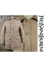 Beige-vintage-yves-saint-laurent-coat