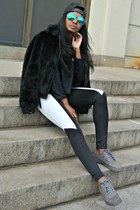 Express jacket - Forever 21 sunglasses - Urban Outfitters pants