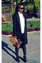 BCBG coat - All Saints pants - Joe Fresh blouse