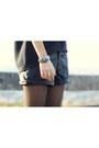 Black-asoscom-boots-black-faux-leather-forever21-shorts