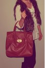 Black-leather-target-boots-brown-leather-nordstrom-bag-white-old-navy-top