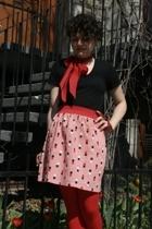 supayana skirt - American Apparel t-shirt - tights